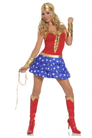 L101 Costum tematic Wonderwoman