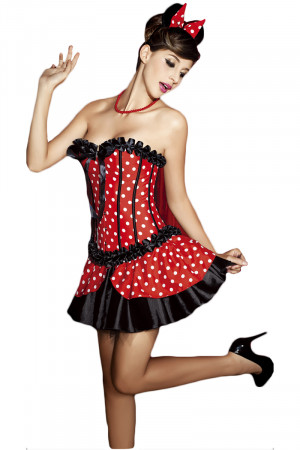 N105 Costum tematic Halloween - Minnie Mouse