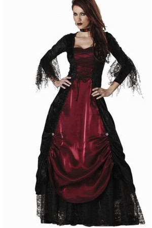 W134 Costum tematic model vampirita