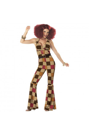 X495-8 Costum tematic Halloween - 1970s Groovy Disco