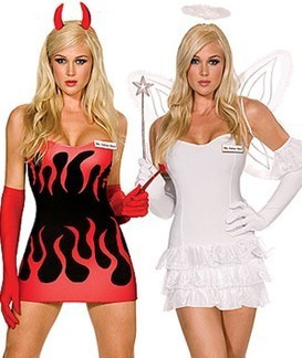 l10 costum halloween inger si demon
