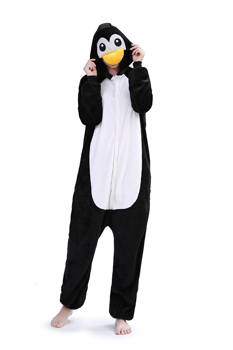 PJM25-1122 Pijama intreaga kigurumi, model pinguin