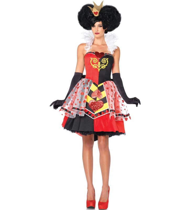 a505 costum cu tematica disney - queen of hearts
