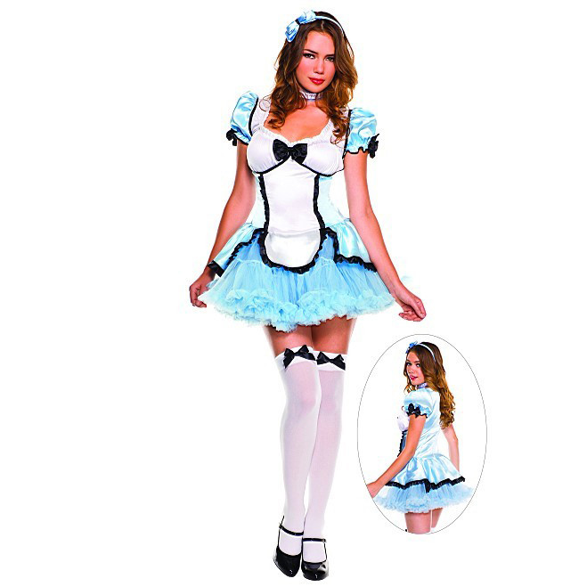 g324 costum halloween alice in tara minunilor