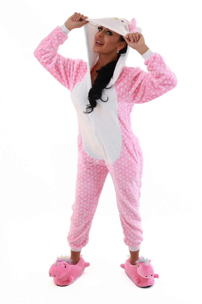 PJM79-225 Pijama intreaga kigurumi model pisicuta