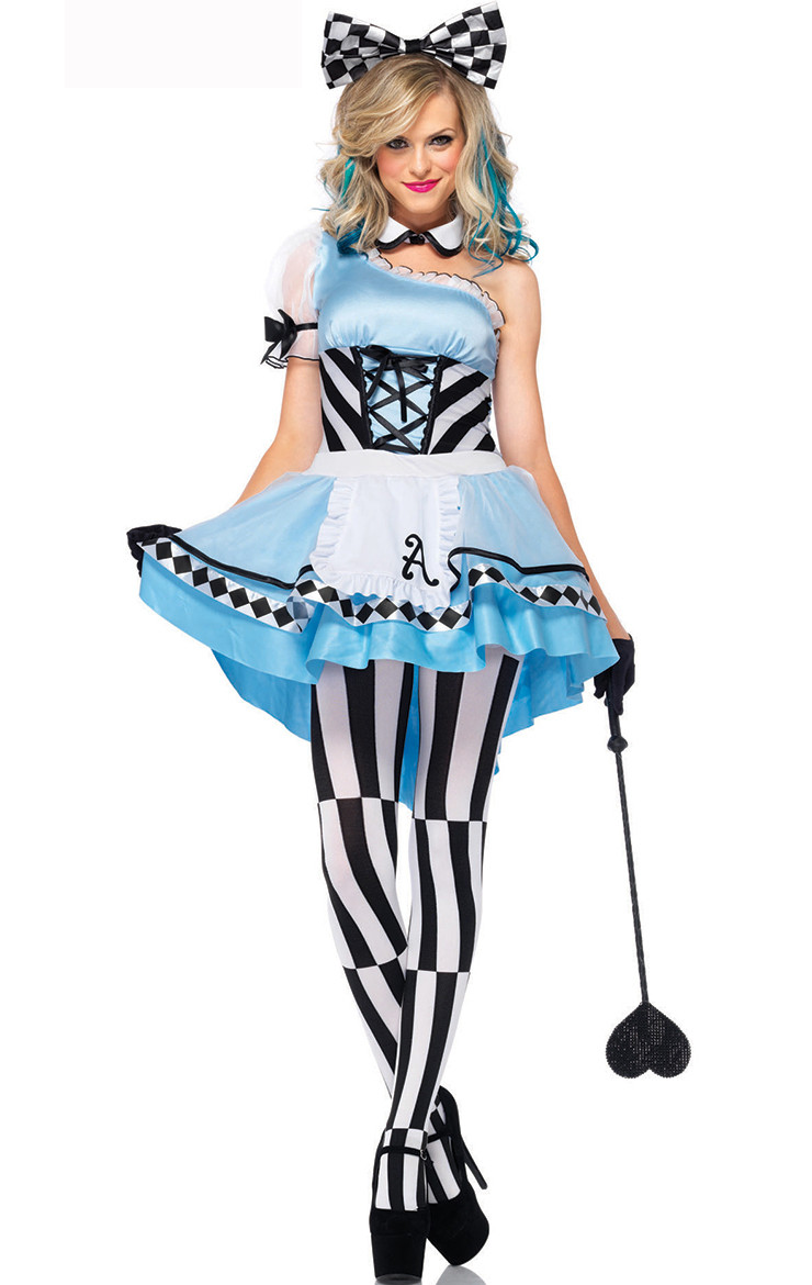 j320 costum halloween alice in tara minunilor