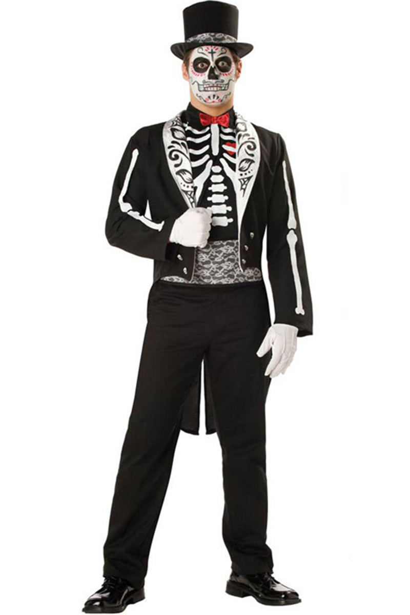 man37 costum halloween model anatomic schelet