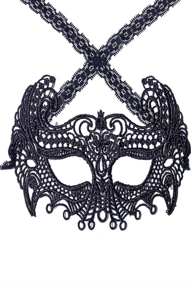 MSK80-1 Masca din broderie Mysterious Masquerade Mask