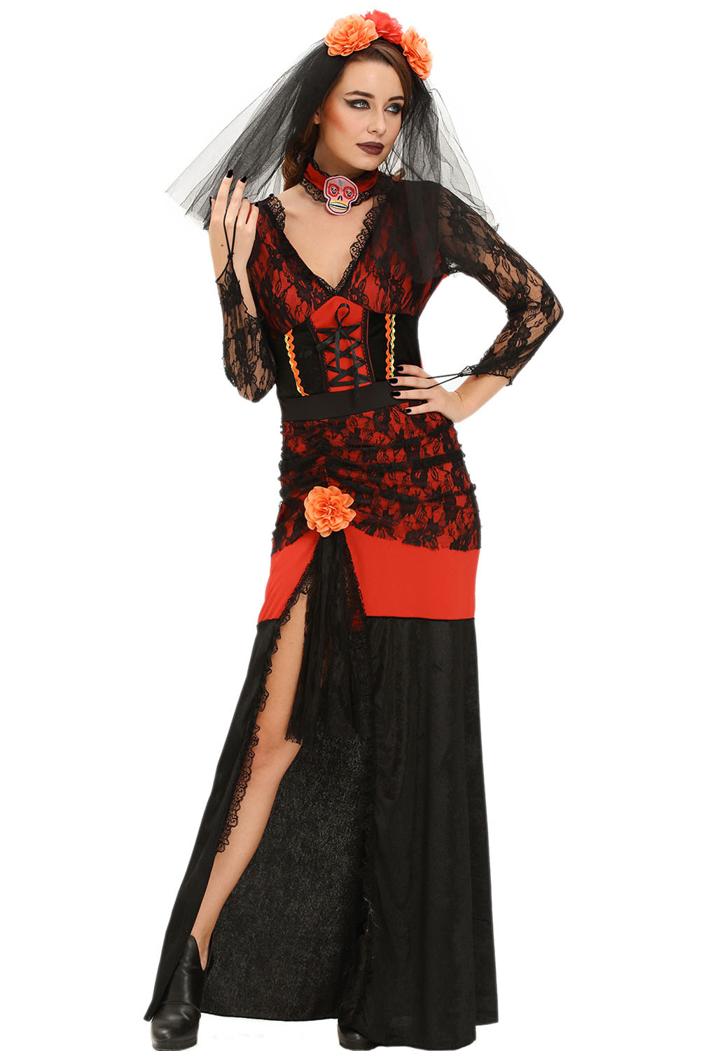 p544-115 costum tematic day of the dead diva