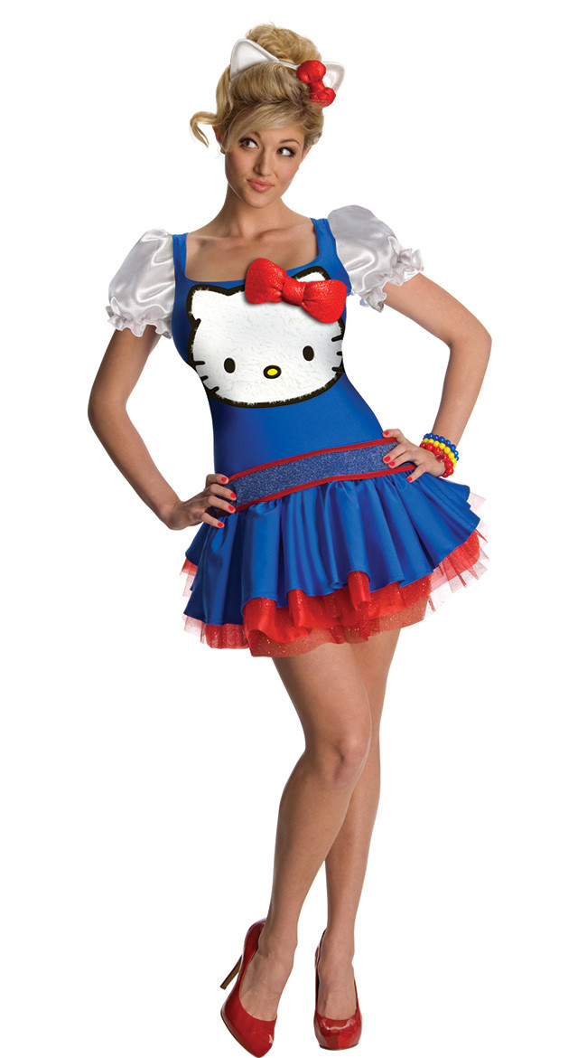 q313-4 costum halloween hello kitty