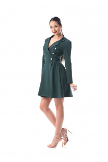 Made in ro - Rochie verde