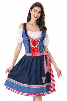 Halloween - E622-000 Costum tematic, model chelnarita Oktoberfest