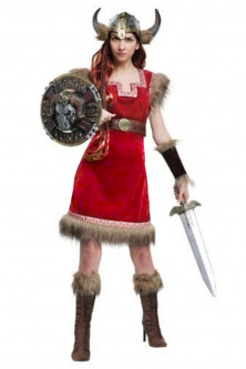 Femei - E629-3 Costum tematic, model Viking