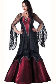 Vrajitoare - Vampir - J625-311 Costum tematic Halloween, model vampir