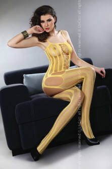 Brands - LIV236-909 Bodystocking din plasa cu decupaje