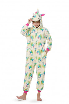 PJM177-94 Pijama intreaga kigurumi, model unicorn
