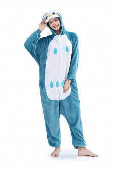 PJM30-48 Pijama intreaga kigurumi, model bufnita