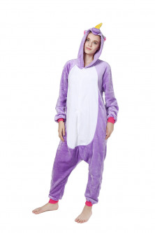 PJM43-10 Pijama intreaga kigurumi, model unicorn