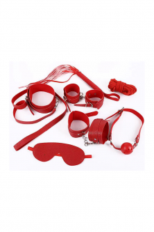 Catuse - TOY95-5 Set fetish 8 piese din piele ecologica