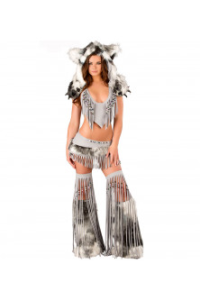 Animalute - K247-6 Costum tematic Halloween Wolf Furry