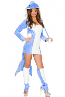 Animalute - N244-4 Costum Halloween delfin
