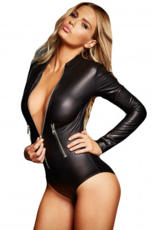Costume de dansatoare - body din latex