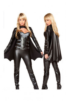 Super Eroi - Q135 Costum tematic liliac batgirl