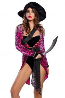Halloween - S544-55 Costum tematic pirat - Sexy Swashbuckler