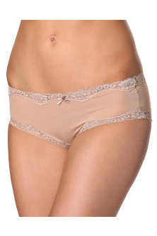 Hipster - TPH1371-155 Chilot hipster cu aplicatii din dantela Brief Micro and Lace Hipster