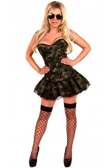 Armata - Marinar - V494-120 Costum tematic Halloween - army girl