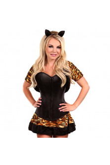 Feline - W490-99 Costum tematic Halloween -  Lavish Tigress