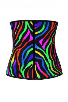 N383-A Corset modelator tip brau, model multicolor