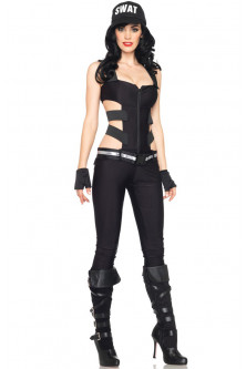 G320 Costum Halloween, model politista Swat