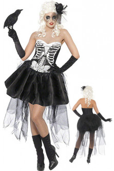 X202 Costum carnaval model anatomic schelet